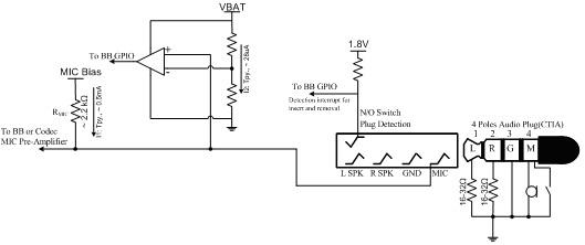 Schema Collegamento Xlr 5 Poli : Soluzioni per rilevamento jack audio auricolari con