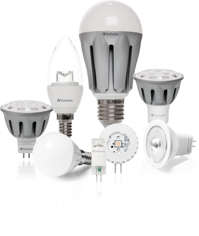Verbatim raddoppia la propria gamma di lampade led per la for Lampade a led casa