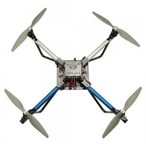 Un quadricottero ELEV-8 di Parallax che utilizza le radio XBee di Digi per comunicare