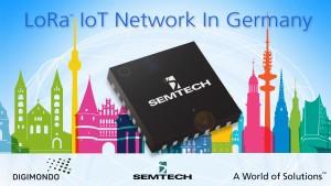 Digimondo sta utilizzando la tecnologia Semtech per le proprie reti LoRA a livello cittadino